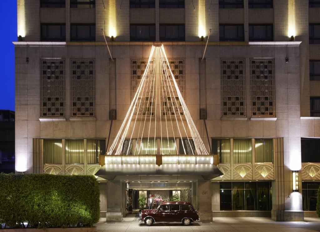 2 飯店大門 - Hotel Entrance 1