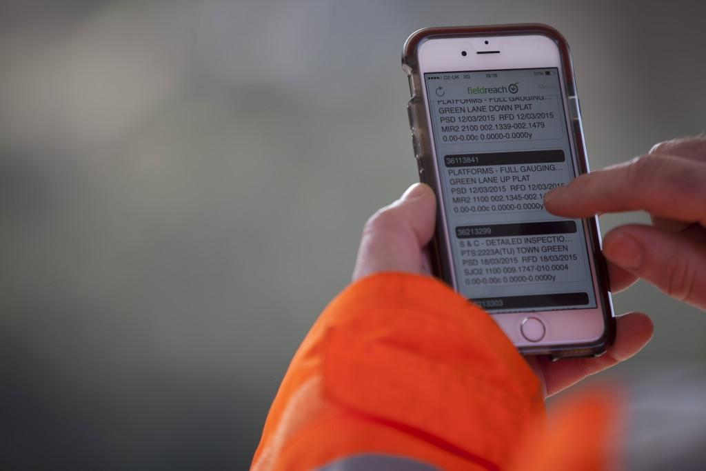 Network Rail iPhone