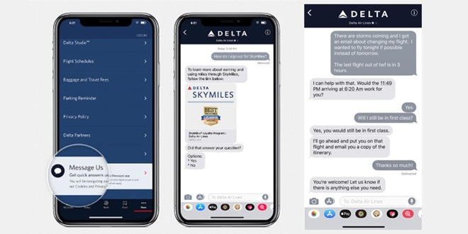 Delta-Messages-Chat-Work