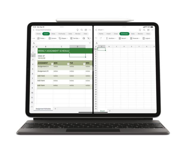 iPad_Excel_Multiwindow